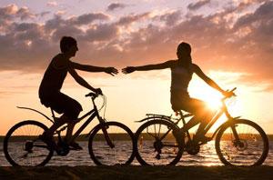 跑步和踩单车 哪个减肥效果好?