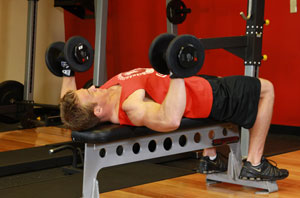 新手力量训练入门动作组 胸腹与大腿训练
