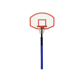 JLG-103室外儿童篮球架(小篮板)