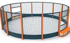 JLG-360圆形足球场